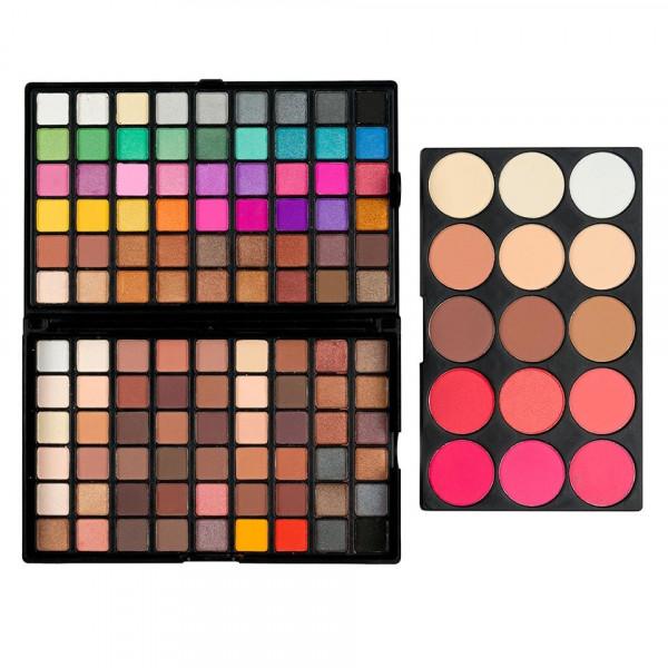 Poze Trusa Farduri 123 culori cu blush Fantastique