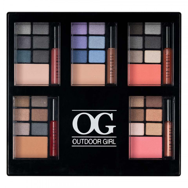 Poze Trusa Machiaj Take Me Out Premium Pallete cu pudra, blush si Lip Gloss