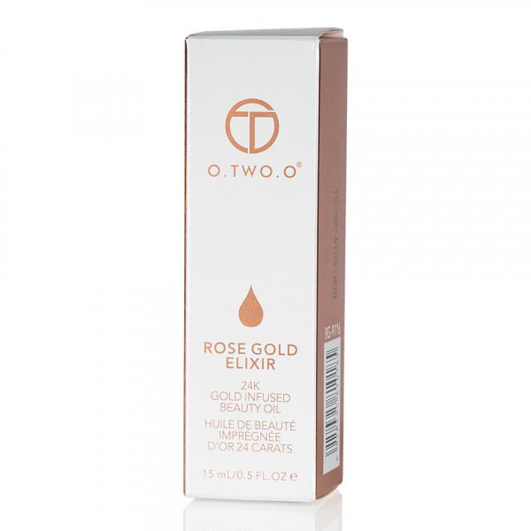 Poze Ulei Elixir de Frumusete O.TWO.O 24K Rose Gold, 15ml