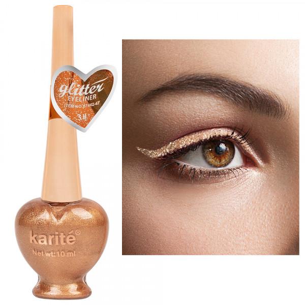 Poze Eyeliner Colorat Karite #03 Shimmer Gold