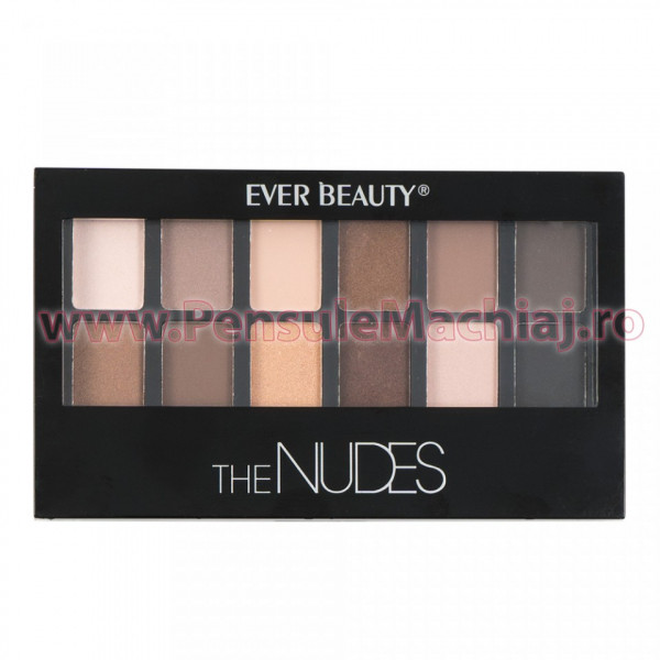 Poze Fard de Pleoape The Nudes EverBeauty Limited Edition