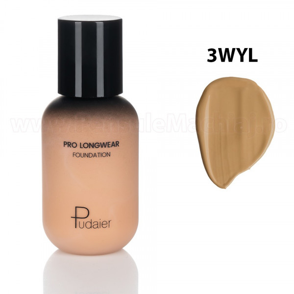 Poze Fond de Ten Pudaier Lasting Makeup Foundation 3WYL