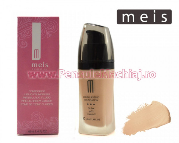 Poze Fond de Ten SPF 15 si Vitamina E Long Lasting 40 ml - #03 ten deschis beige