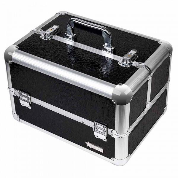 Poze Geanta Produse Cosmetice din aluminium Fraulein38 Jet Black