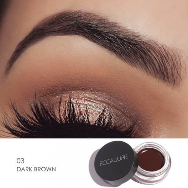 Poze Gel Sprancene Focallure Dark Brown