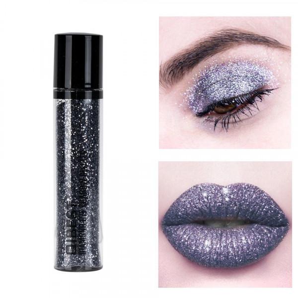 Poze Glitter Pulbere Ochi si Buze Diamond Glitter #07 Dark Fairy