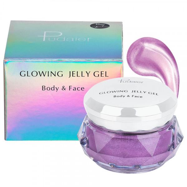 Poze Iluminator crema pentru fata si corp Pudaier Glowing Jelly #07