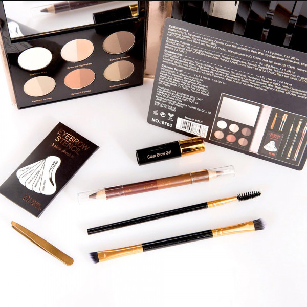 Poze Kit Sprancene Professional Brows - Fard Sprancene, Creioane, Sabloane, Pensule