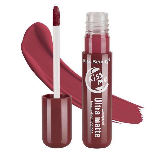 Poze Lipgloss Ultra Matte Kiss Beauty, Kiss Me #10
