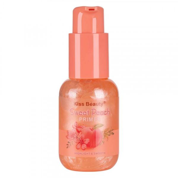 Poze Primer Machiaj Kiss Beauty Sweet Peach, 60ml