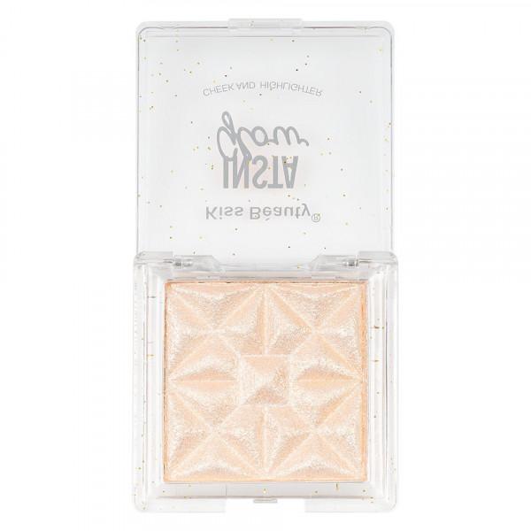 Poze Pudra Iluminatoare Kiss Beauty Insta Glow #02