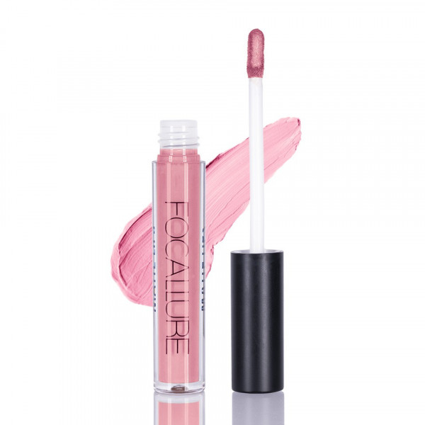 Poze Ruj lichid mat Focallure Ruddy Pink #10