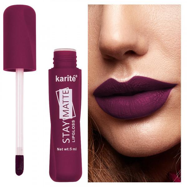 Poze Ruj lichid mat Karite Stay Matte Lipgloss #09