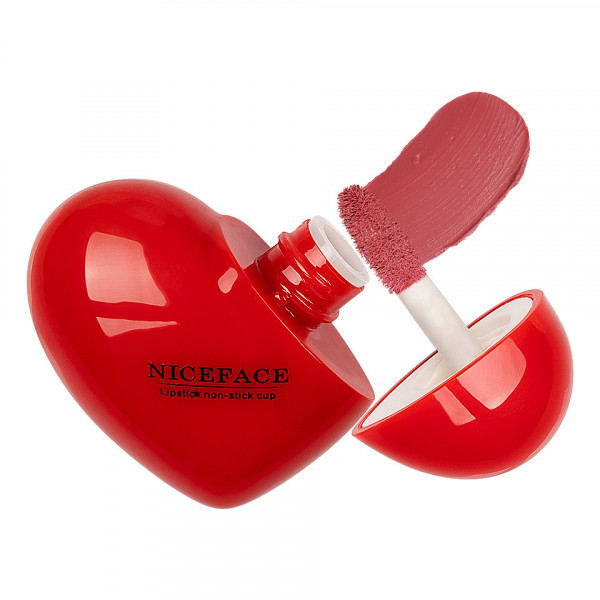 Poze Ruj Lichid Mat Niceface Heart to Lips #05