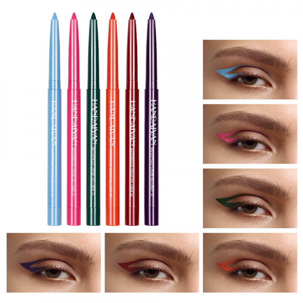 Poze Set Creion Retractabil pentru Contur Ochi Handaiyan #03, 6 buc
