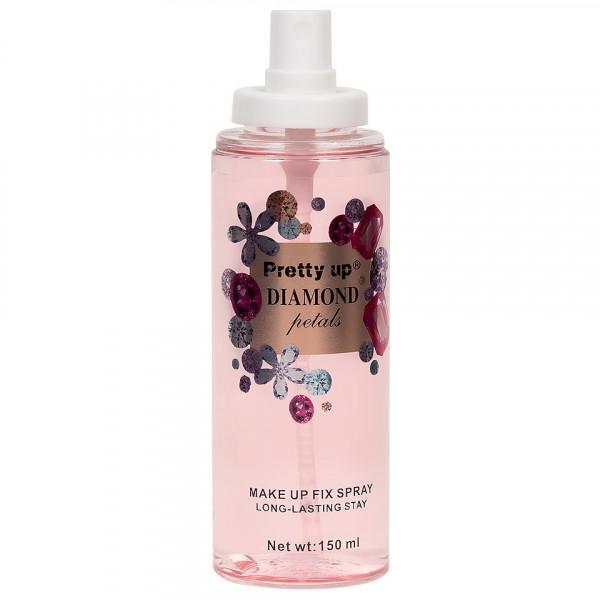 Poze Spray Fixare Machiaj Diamond Petals Pretty Up, 150ml