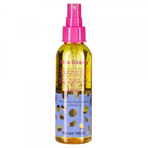 Poze Spray Fixare Machiaj Kiss Beauty cu Extract de Citrice SPF 60, 150ml
