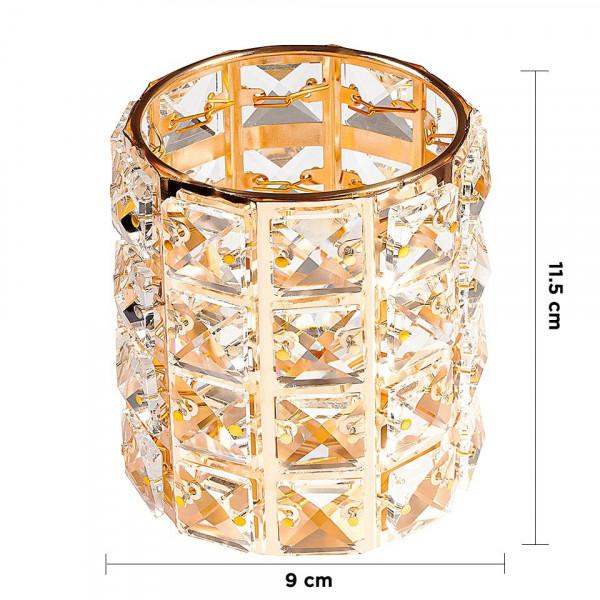 Poze Suport Pensule Crystal, Magic Gold