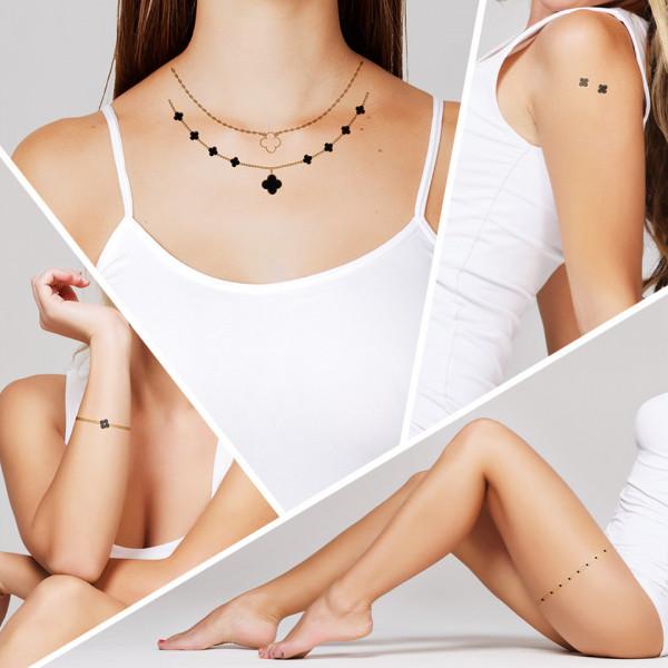 Poze Tatuaj Temporar LUXORISE Henna Temptation Gold Edition E001