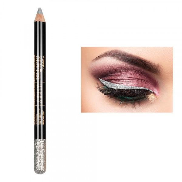 Poze Creion Colorat Contur Ochi cu Sclipici, Ushas Glittery Precious #07