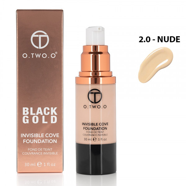 Poze Fond de Ten Invisible Foundation O.TWO.O - Nude, 30 ml