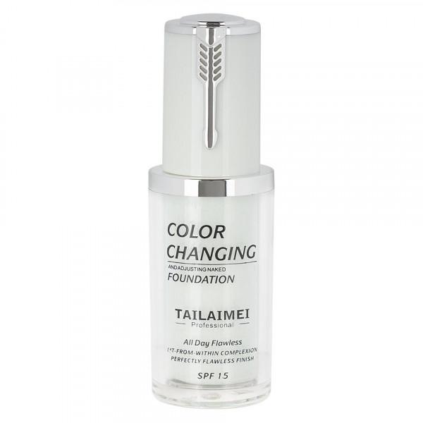 Poze Fond de Ten TLM Color Changing SPF 15 & Color Changing Velvet Touch + CADOU Spray Fixare