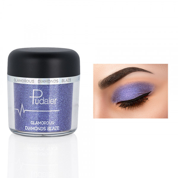 Poze Pigment Machiaj Ochi #07 Pudaier - Glamorous Diamonds