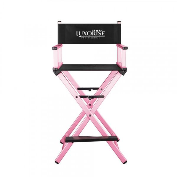 Poze Scaun Make-Up Profesional Pliabil LUXORISE Soft Pink
