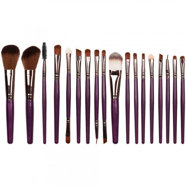 Poze Set 18 pensule machiaj Multipurpose Facial