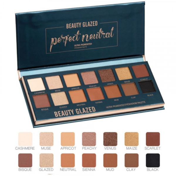Poze Trusa Farduri Beauty Glazed Perfect Neutral