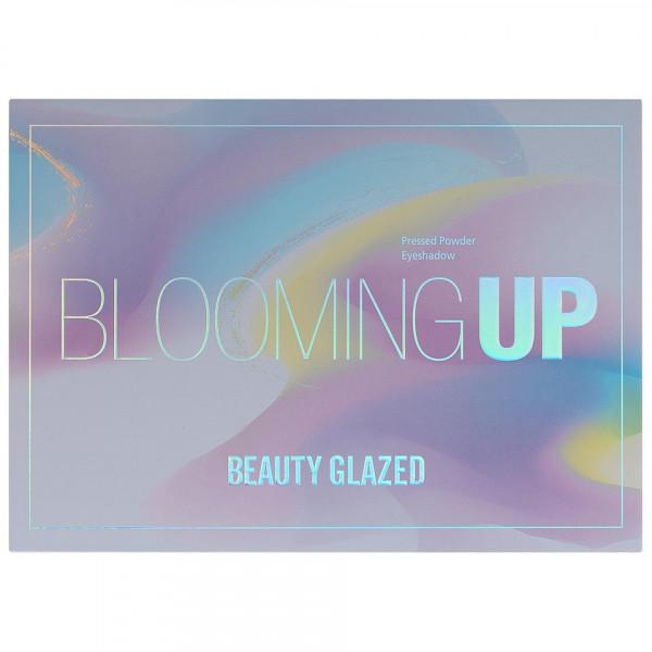 Poze Trusa Farduri Blooming UP Beauty Glazed + CADOU Set 6 Pensule Machiaj SensoPRO Milano