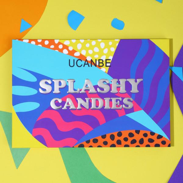 Poze Trusa Farduri UCANBE Splashy Candies