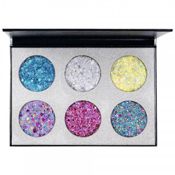 Poze Trusa Glitter Ochi Beauty Glazed Bar Cupcakes