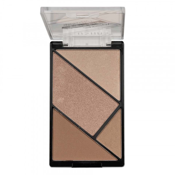 Poze Trusa Iluminator si Bronzer Ushas Fashion Highlighter #04