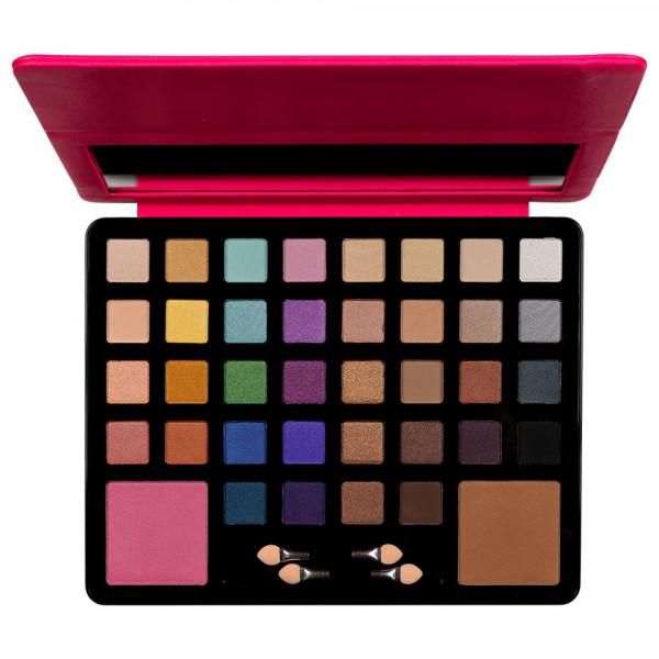 Poze Trusa Machiaj 38 culori cu pudra si blush Fraulein38 InstaGlam