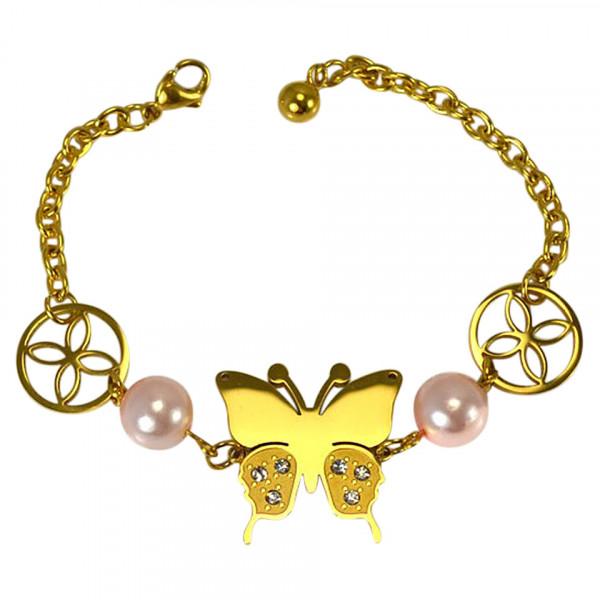 Poze Bratara Inox Chic Butterfly