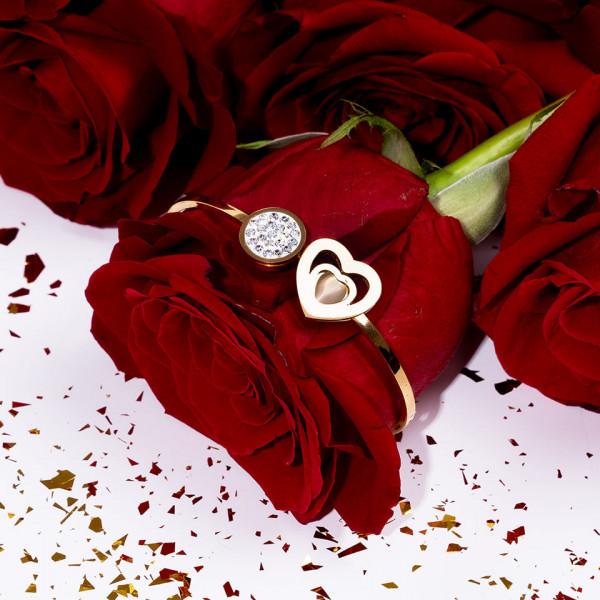 Poze Bratara Inox Heart's Wish