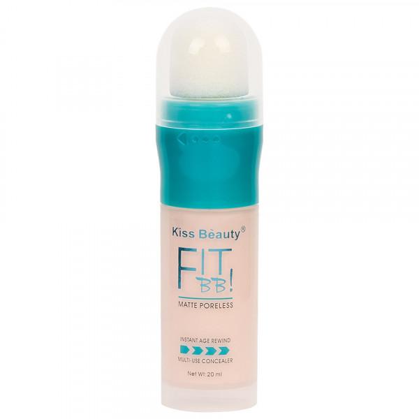 Poze Concealer Lichid Kiss Beauty Fit BB #01