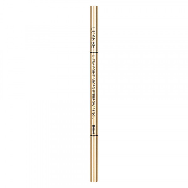 Poze Creion Sprancene Retractabil 2 in 1 cu perie, UCANBE #04 Soft Black