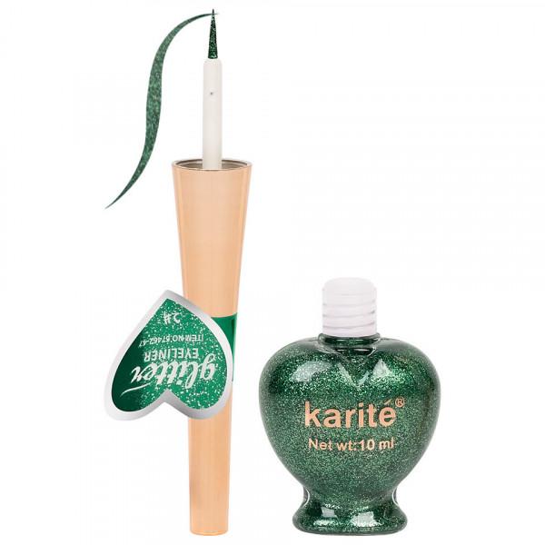 Poze Eyeliner Colorat Karite #02 Shimmer Green