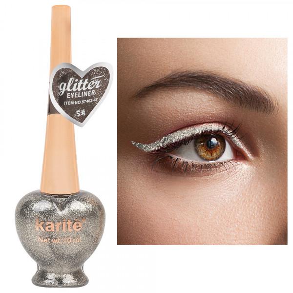 Poze Eyeliner Colorat Karite #05 Shimmer Platinum