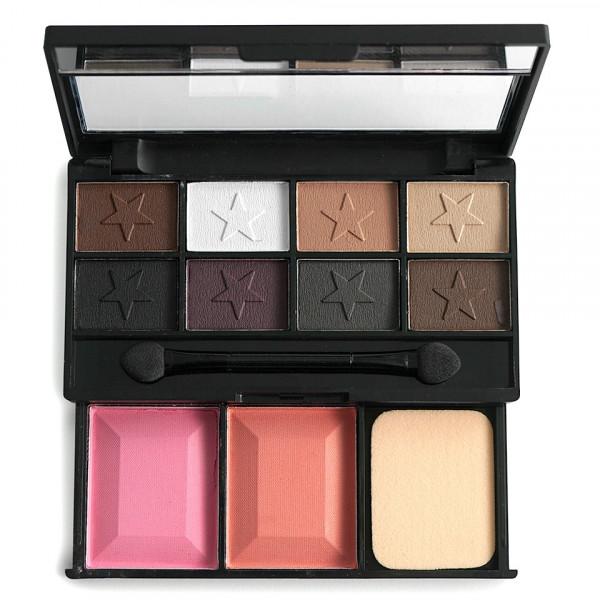 Poze Fard de Pleoape 8 culori cu blush 2 culori DUOMEILA #02