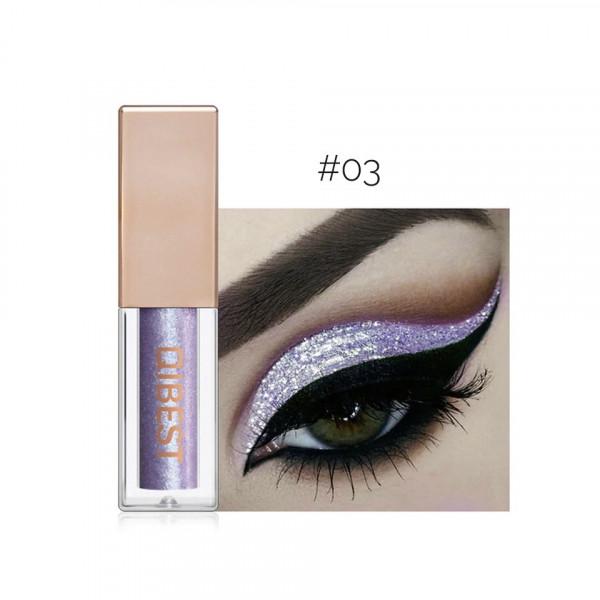 Poze Fard Pleoape Lichid Qibest Eye Shimmer #03 Mermaid