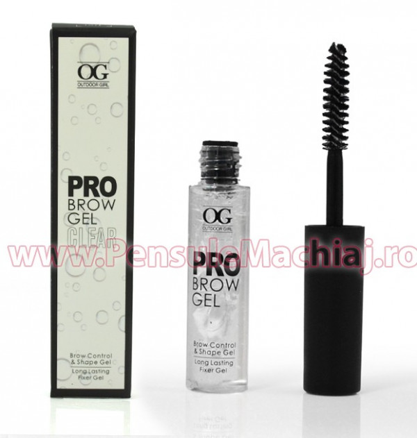 Poze Gel Sprancene Transparent- Pro Brow Gel Clear, 5g