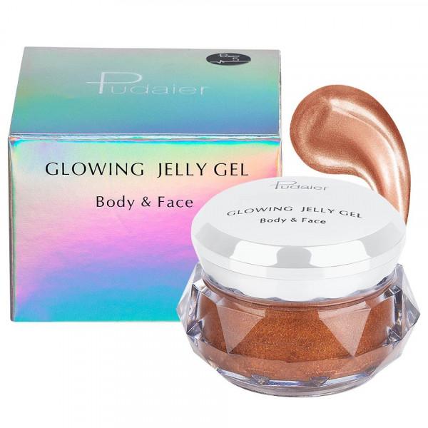 Poze Iluminator crema pentru fata si corp Pudaier Glowing Jelly #05