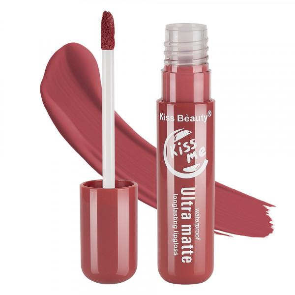 Poze Lipgloss Ultra Matte Kiss Beauty, Kiss Me #11