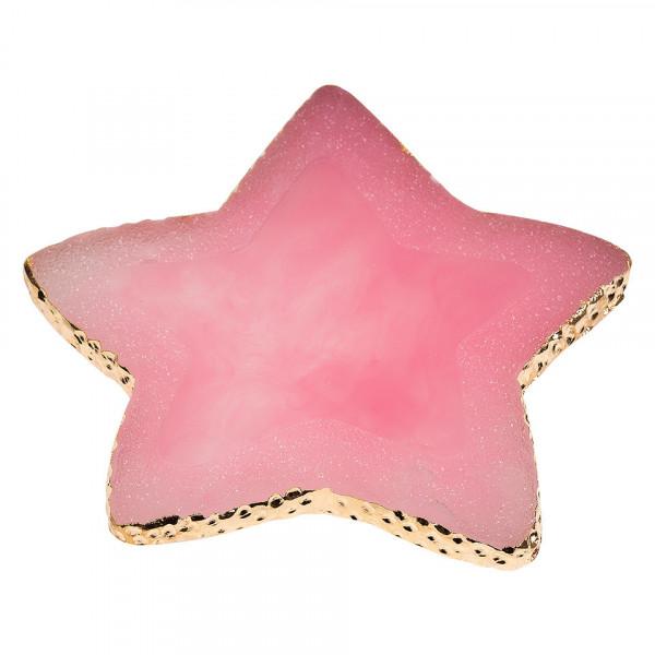 Poze Paleta Mixare Fond de Ten si Adeziv Jad, Pink Star