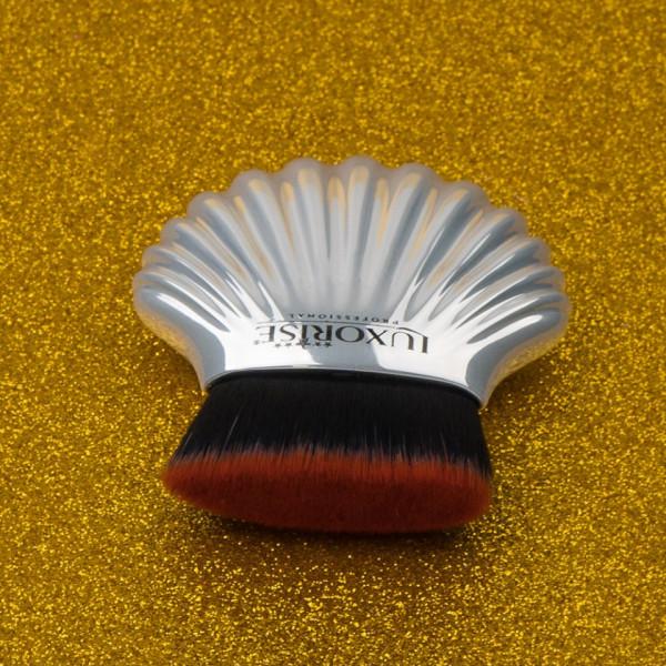 Poze Pensula Machiaj Silver Shell LUXORISE Germania #03