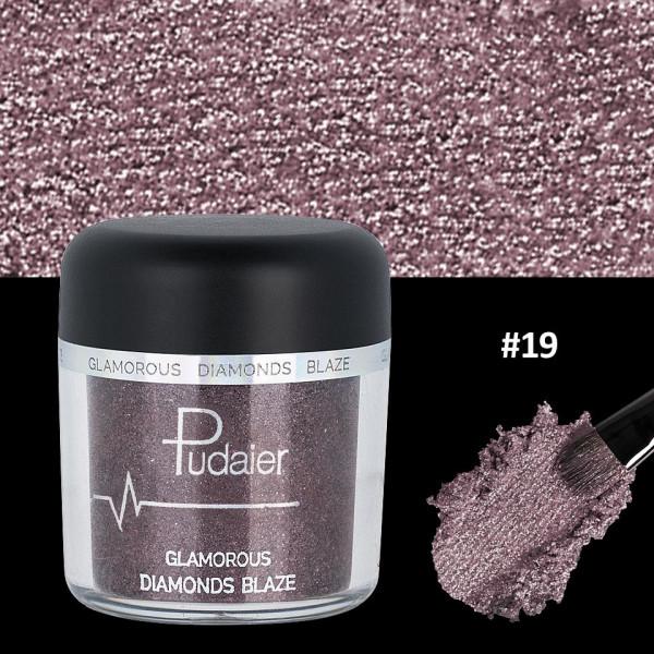 Poze Pigment Machiaj Ochi #19 Pudaier - Glamorous Diamonds