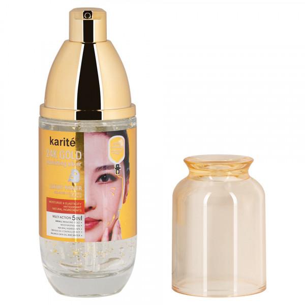 Poze Primer Machiaj cu Acid Hialuronic Karite Luxury 24k Gold, 45ml